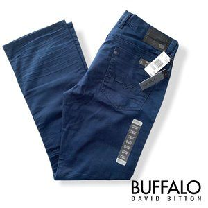 Buffalo David Bitton Men's Six Slim Straight Jeans